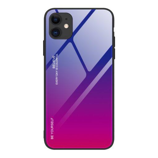 iPhone 12 ja 12 Pro umbris gradient roosa lilla