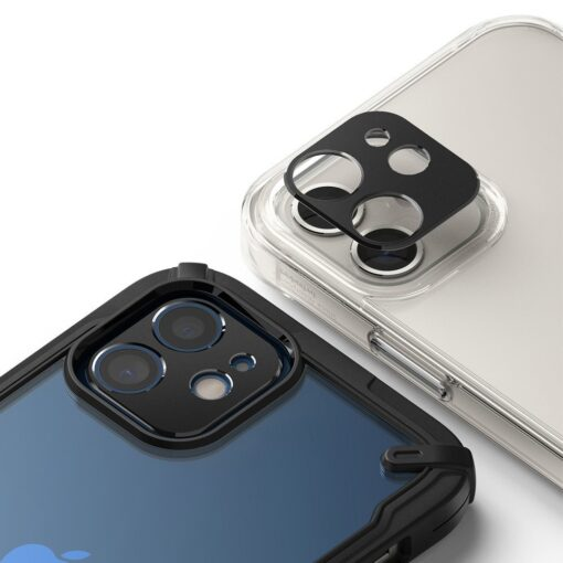 iPhone 12 kaamera kaitse Ringke must 3