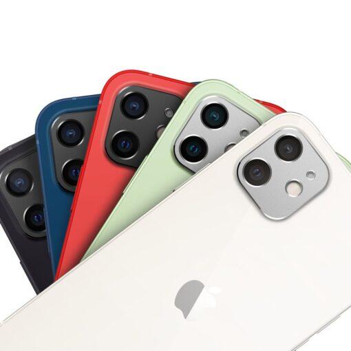 iPhone 12 kaamera kaitse Ringke must 5