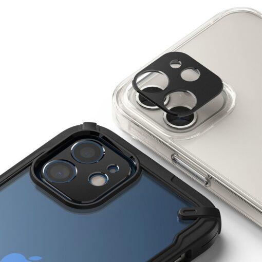 iPhone 12 mini kaamera kaitse Ringke must 3