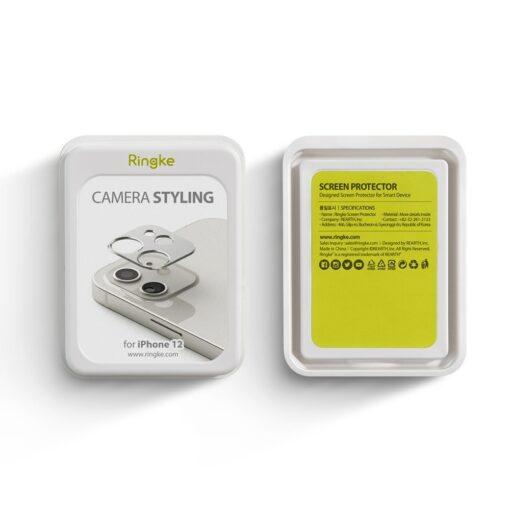 iPhone 12 mini kaamera kaitse Ringke must 4
