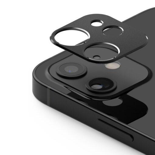 iPhone 12 mini kaamera kaitse Ringke must