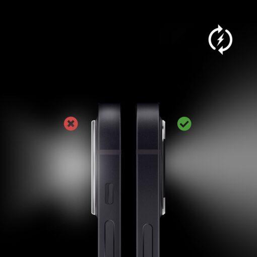 iPhone 12 mini kaamera kaitse Ringke must 6