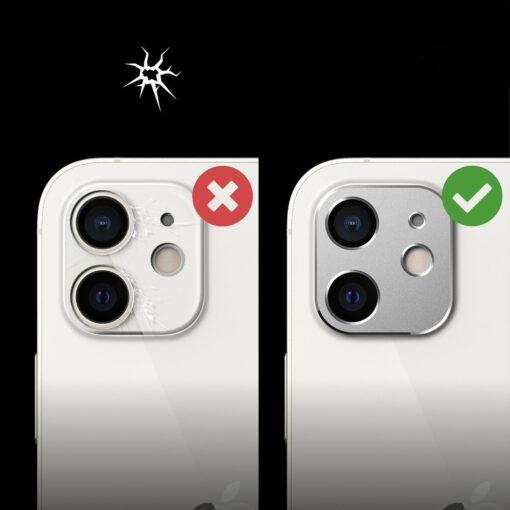 iPhone 12 mini kaamera kaitse Ringke must 7