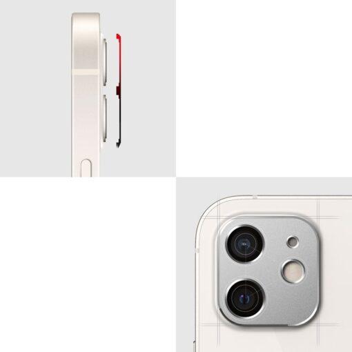 iPhone 12 mini kaamera kaitse Ringke must 8