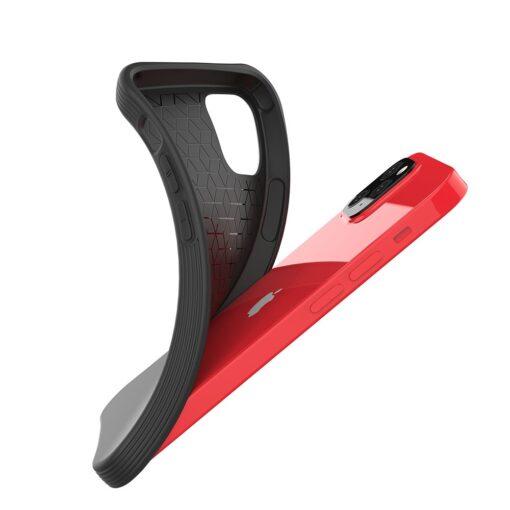 iPhone 12 mini tugevdatud nurkadega silikoonist umbris must 2