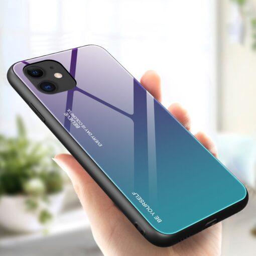 iPhone 12 mini umbris gradient roheline lilla 3