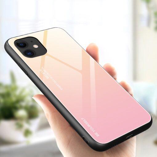 iPhone 12 mini umbris gradient roosa 2