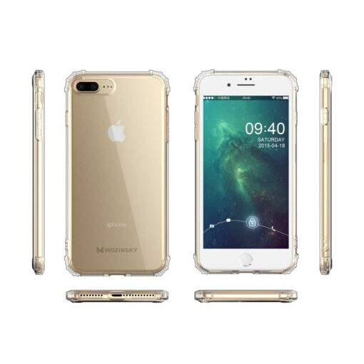 iPhone 8 Plus7 Plus umbris tugevdatud nurkadega silikoonist 7