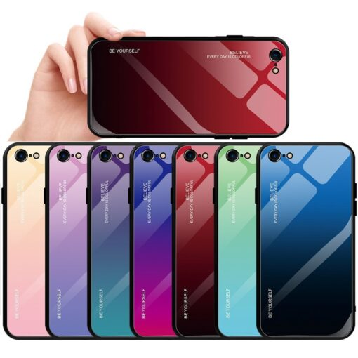 iPhone SE 2020 iPhone 8 iPhone 7 umbris gradient must punane 1