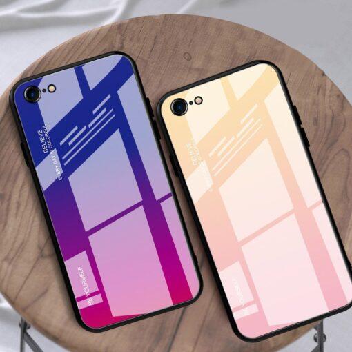 iPhone SE 2020 iPhone 8 iPhone 7 umbris gradient must punane 11