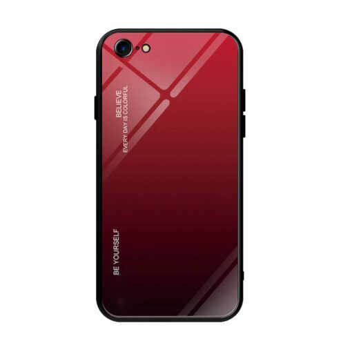 iPhone SE 2020 iPhone 8 iPhone 7 umbris gradient must punane