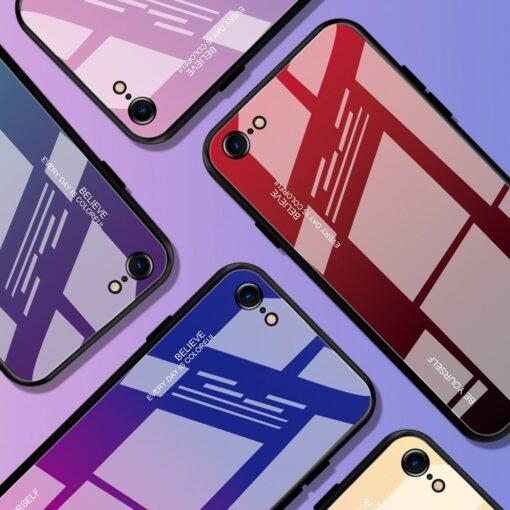 iPhone SE 2020 iPhone 8 iPhone 7 umbris gradient must punane 6