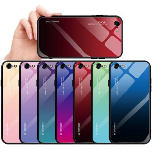 iPhone SE 2020 iPhone 8 iPhone 7 umbris gradient roosa 1