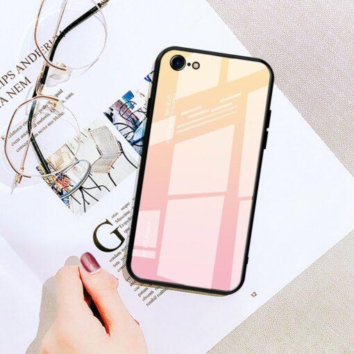 iPhone SE 2020 iPhone 8 iPhone 7 umbris gradient roosa 17