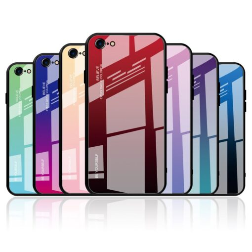 iPhone SE 2020 iPhone 8 iPhone 7 umbris gradient roosa 18