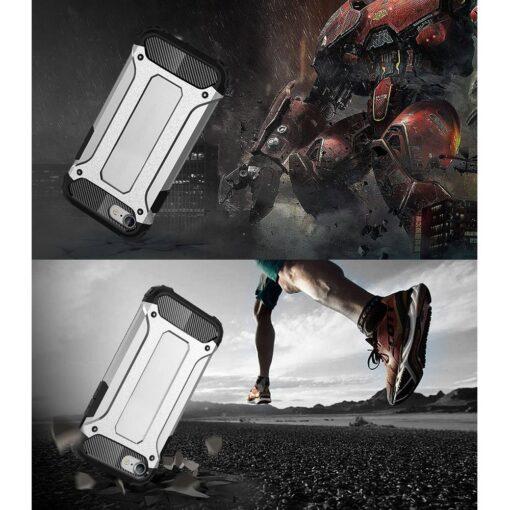 iPhone SE202087 umbris Hybrid Armor plastikust taguse ja silikoonist raamiga hobe 1