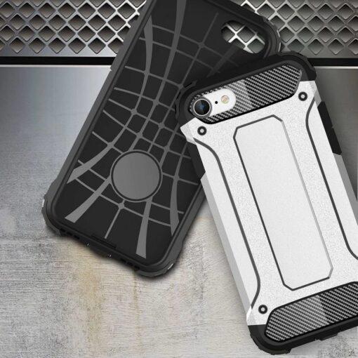 iPhone SE202087 umbris Hybrid Armor plastikust taguse ja silikoonist raamiga hobe 3