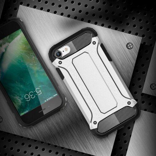 iPhone SE202087 umbris Hybrid Armor plastikust taguse ja silikoonist raamiga hobe 4