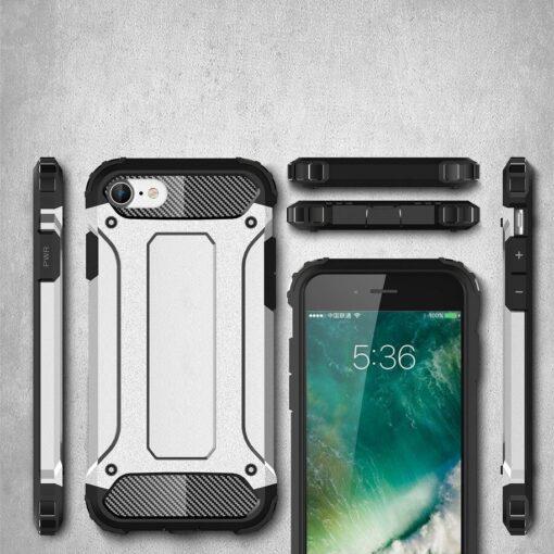 iPhone SE202087 umbris Hybrid Armor plastikust taguse ja silikoonist raamiga hobe 6