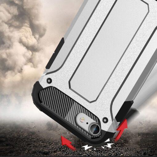 iPhone SE202087 umbris Hybrid Armor plastikust taguse ja silikoonist raamiga hobe 7