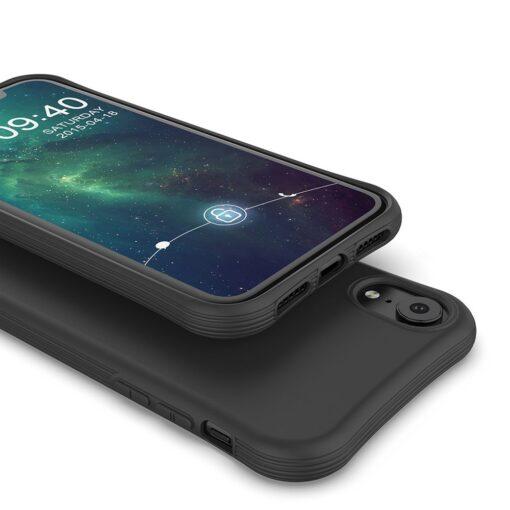 iPhone XR tugevdatud nurkadega silikoonist umbris tumeroheline 2