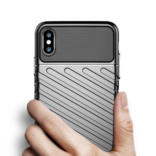 iPhone XS Max tugev umbris Thunder silikoonist must 2