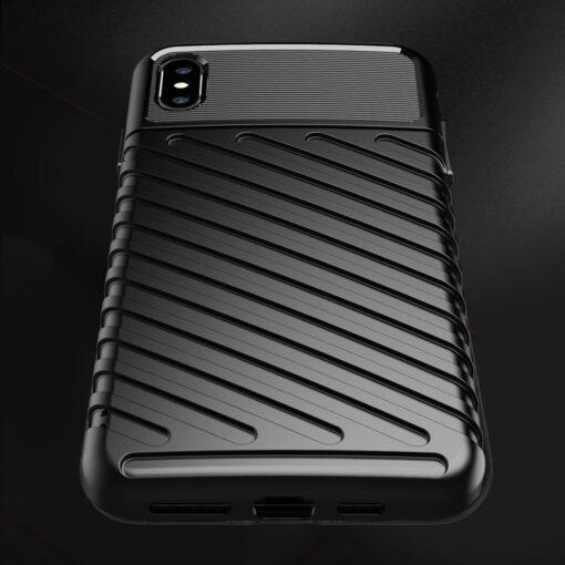 iPhone XS Max tugev umbris Thunder silikoonist must 5