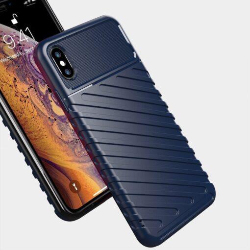 iPhone XS Max tugev umbris Thunder silikoonist must 6