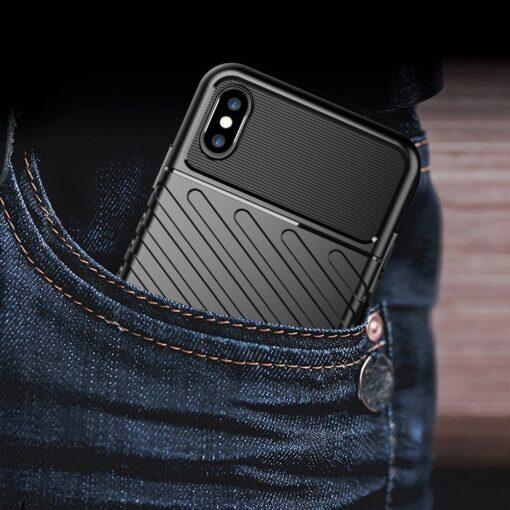 iPhone XS Max tugev umbris Thunder silikoonist must 9