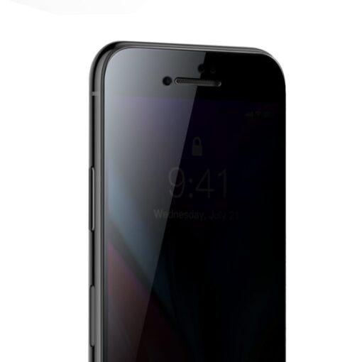 2tk iPhone 87 Plus kaitseklaas Privaatsusfiltriga Privacy must 2