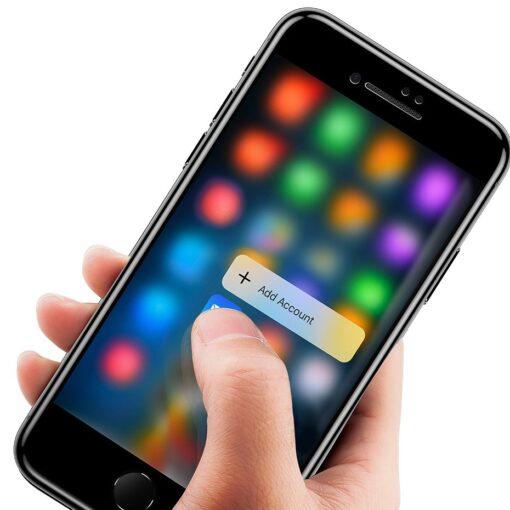 2tk iPhone 87 Plus kaitseklaas Privaatsusfiltriga Privacy valge 12