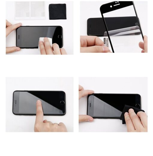 2tk iPhone 87 Plus kaitseklaas Privaatsusfiltriga Privacy valge 16