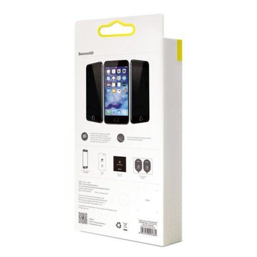 2tk iPhone 87 Plus kaitseklaas Privaatsusfiltriga Privacy valge 18