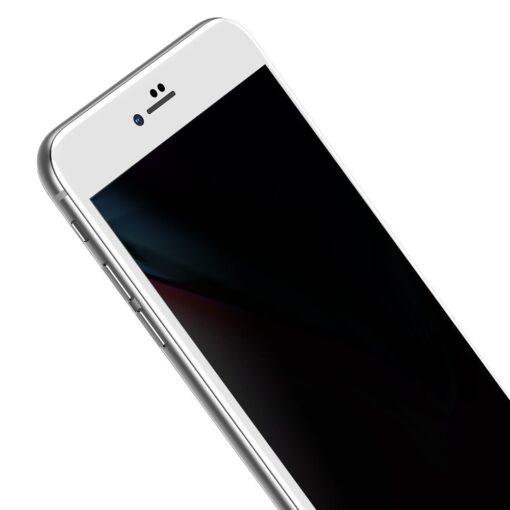 2tk iPhone 87 Plus kaitseklaas Privaatsusfiltriga Privacy valge 3