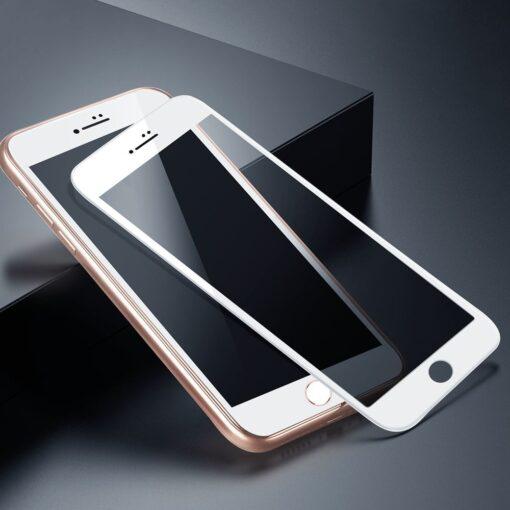 2tk iPhone 87 Plus kaitseklaas Privaatsusfiltriga Privacy valge 5