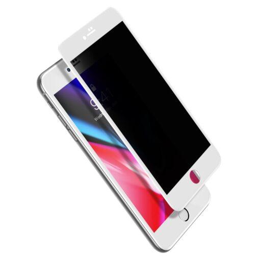 2tk iPhone 87 Plus kaitseklaas Privaatsusfiltriga Privacy valge