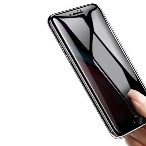 2tk iPhone 87 Plus kaitseklaas Privaatsusfiltriga Privacy valge 7