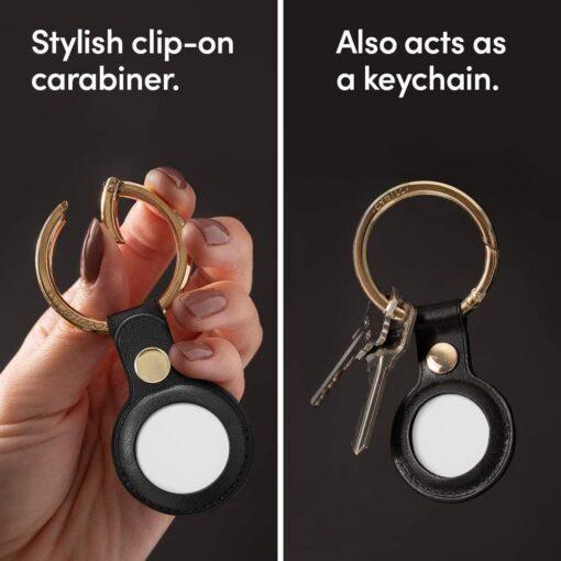 Airtag umbris Spigen Cyrill Basic Leather Apple Airtag Must 10