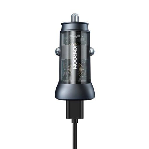 Autolaadija adapter sigaretisuutajasse USB C ja USB 38W 3A QC 3.0 PD AFC SCP 6