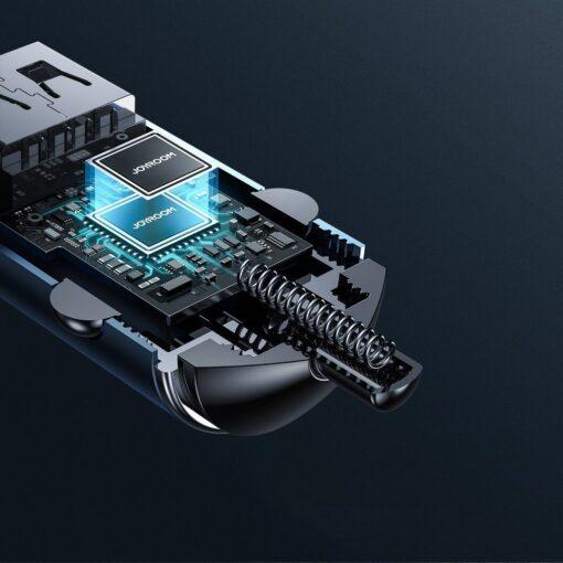 Autolaadija adapter sigaretisuutajasse USB C ja USB 45W 5A QC 3.0 PD AFC SCP 7