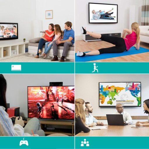 Choetech USB C to HDMI uleminek Coaxial 0.2m hall 7