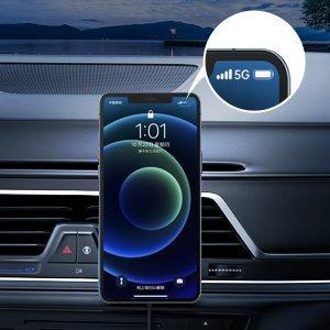 Juhtmevaba MagSafe autohoidik koos autolaadijaga 15W Choetech iPhonele must 10