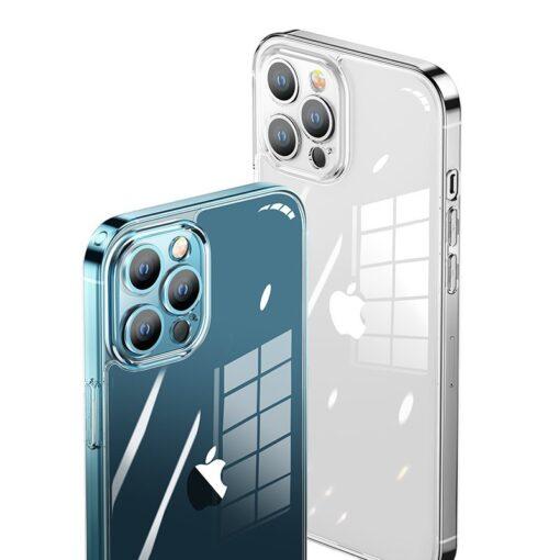 iPhone 12 PRO silikoonist umbris Joyroom Crystal Series labipaistev 3