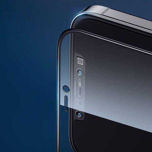 iPhone 12 Pro Max privaatsusfiltriga kaitseklaas Joyroom Knight 10