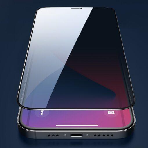 iPhone 12 Pro Max privaatsusfiltriga kaitseklaas Joyroom Knight 11