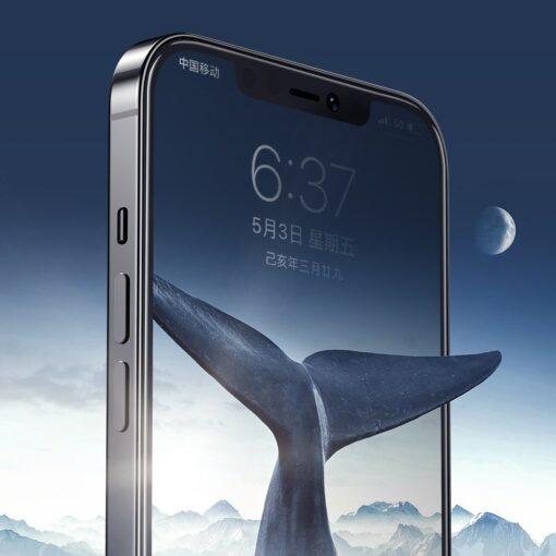 iPhone 12 Pro Max privaatsusfiltriga kaitseklaas Joyroom Knight 3