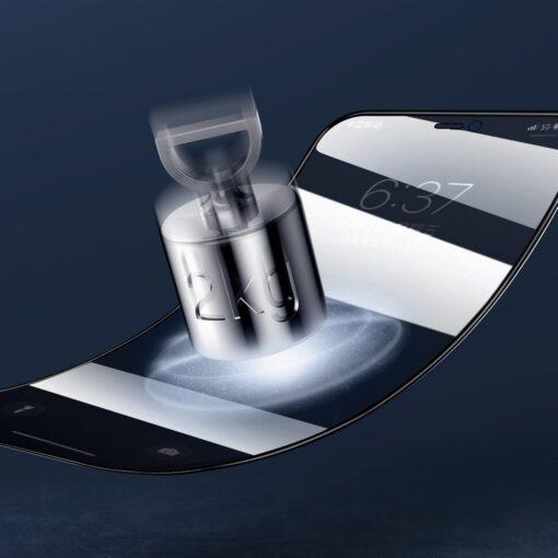 iPhone 12 Pro Max privaatsusfiltriga kaitseklaas Joyroom Knight 8