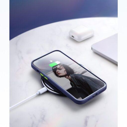 iPhone 12 Pro Max silikoonist umbris Joyroom Color Series sinine 10