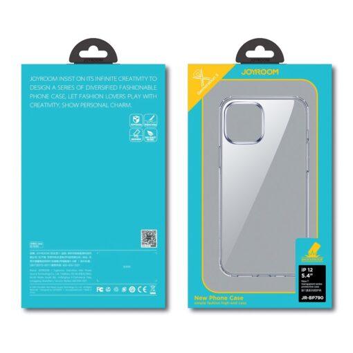 iPhone 12 Pro Max umbris Joyroom T silikoonist labipaistev 4